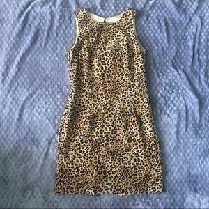 Vintage Maggy London Cheetah Dress!
